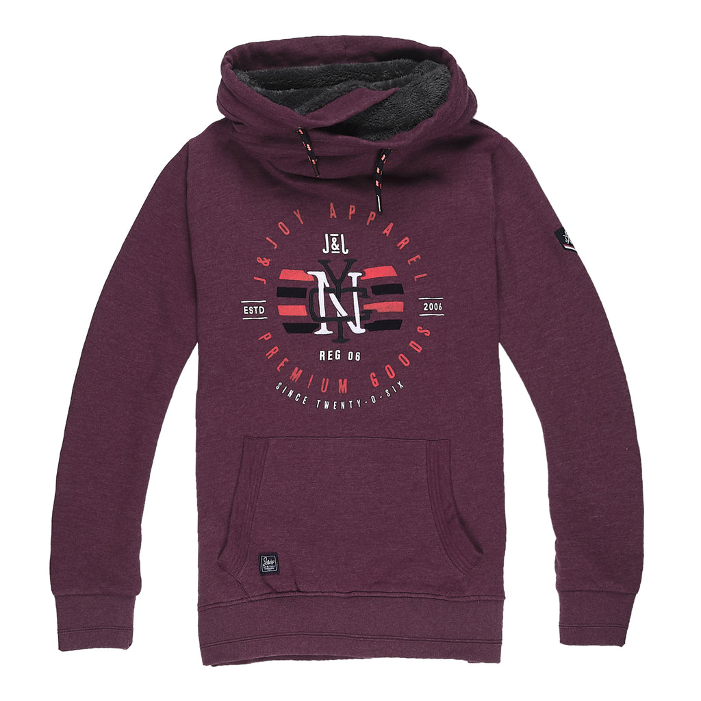 Sweat Homme 04 Burgundy | J&JOY