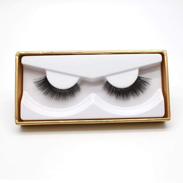VIP Eyelashes - 3D Faux Mink Invisible Band