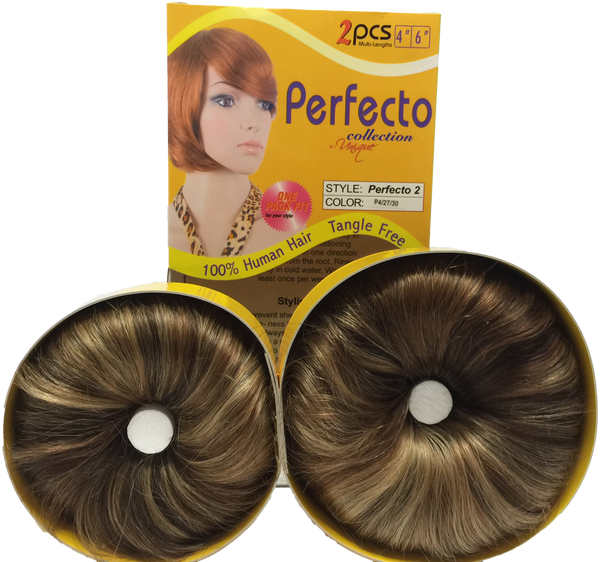 "Unique's Perfecto 2 Bump Hair 4"" & 6"" / 100% Human Hair - VIP Extensions"