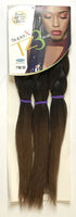 "Super X TZ3 - Teased 3 Bundles Braids - 48"" - BeautyGiant USA"
