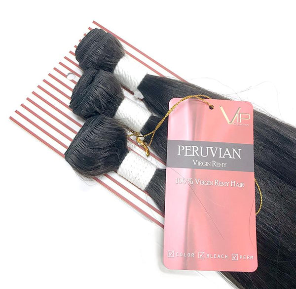 VIP Collection Peruvian Virgin Hair Bundles