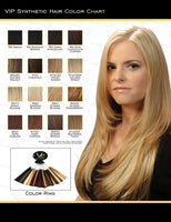VIP Collection Synthetic Clip-In Extensions / Topaz 8äó? Style - VIP Extensions