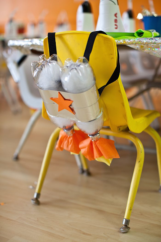 Rocket Launcher Backpacks - KARAS PARTY IDEAS