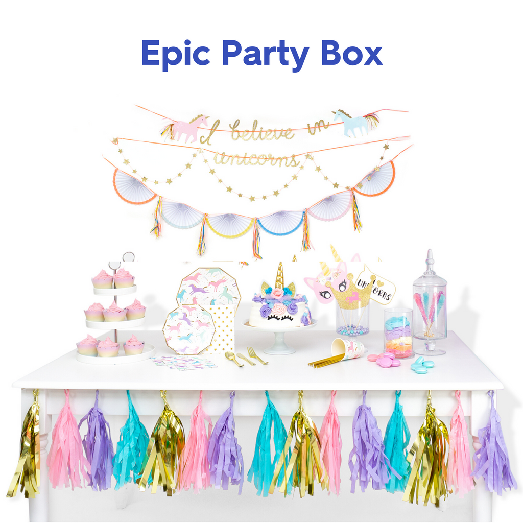 Magical Unicorn Party Box 🦄