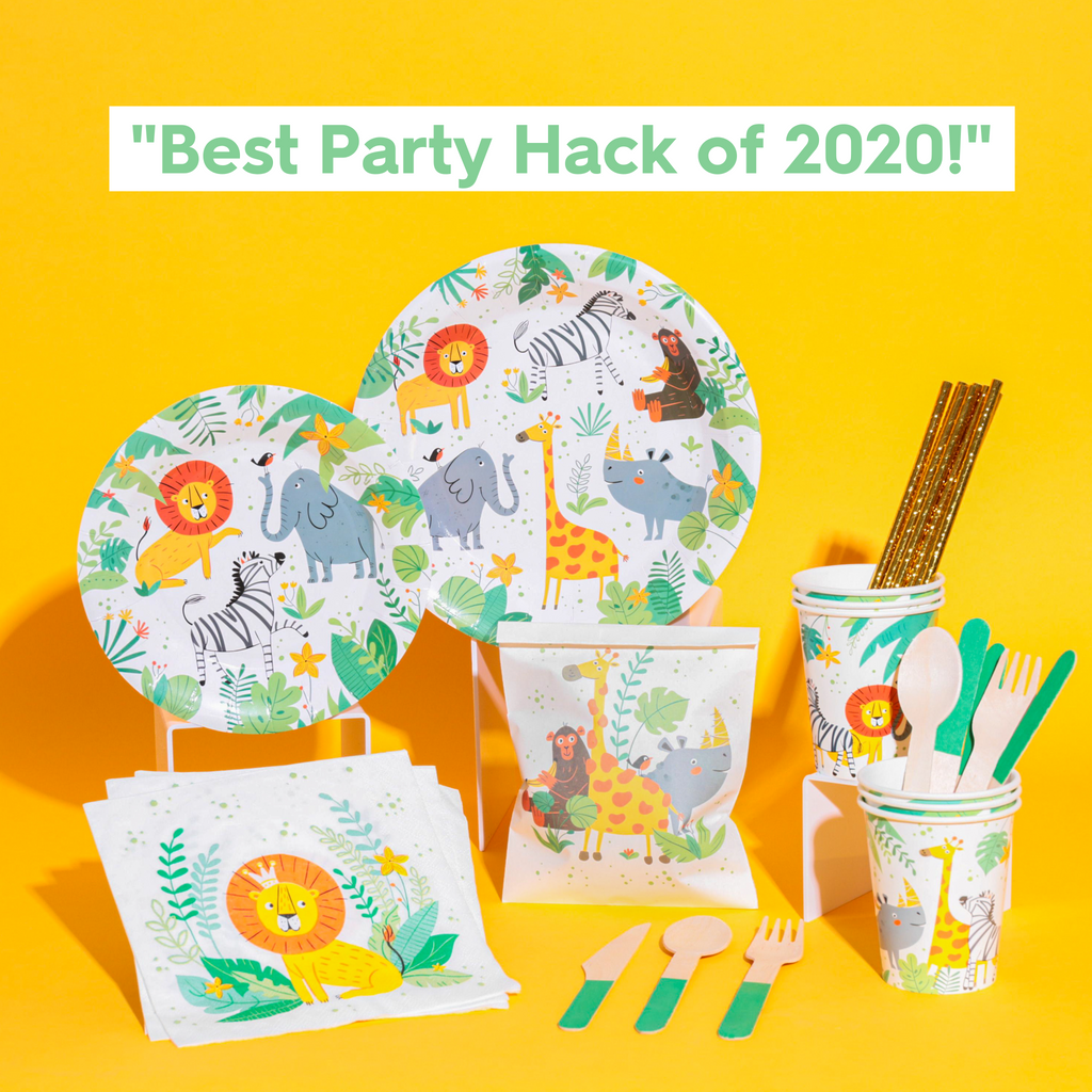 Wild One - Jungle Safari Party Box 🦁🦓