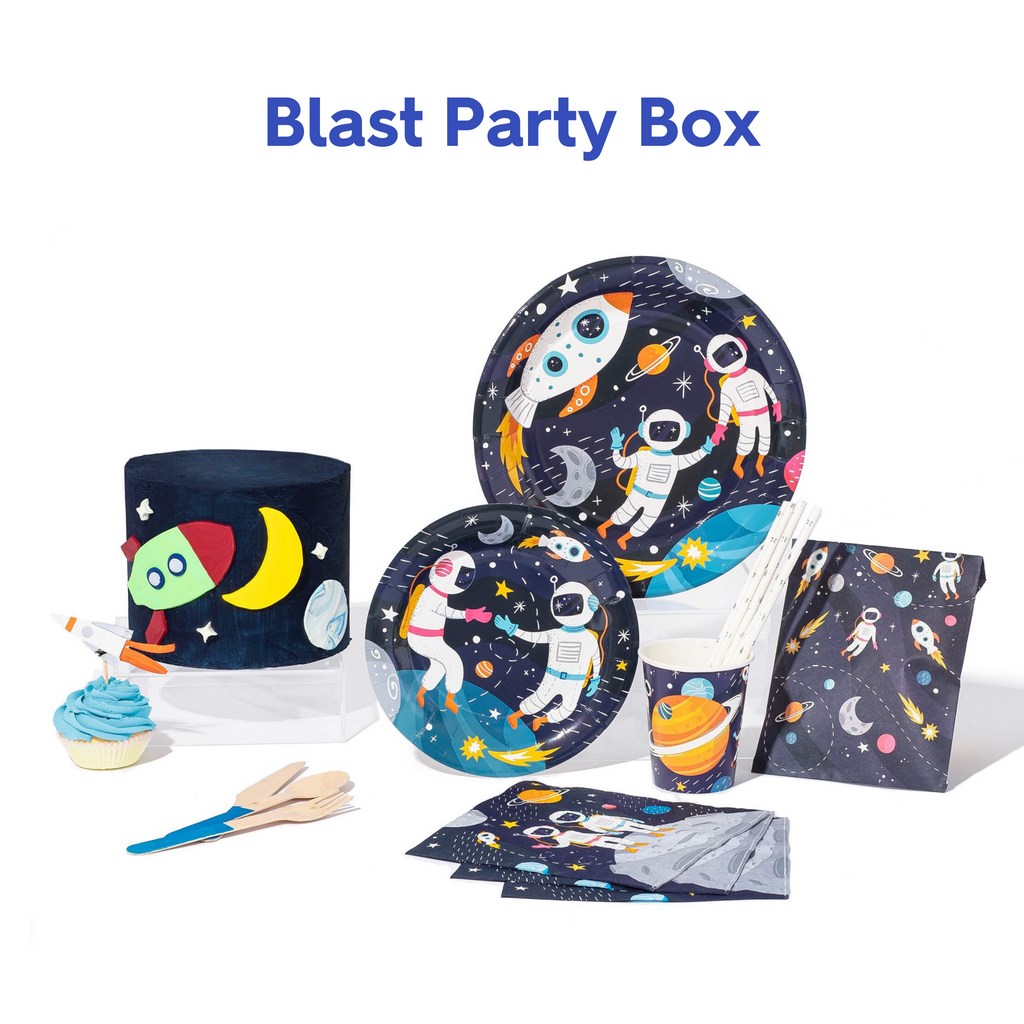 Shoot for the Moon Space Party Box 🚀