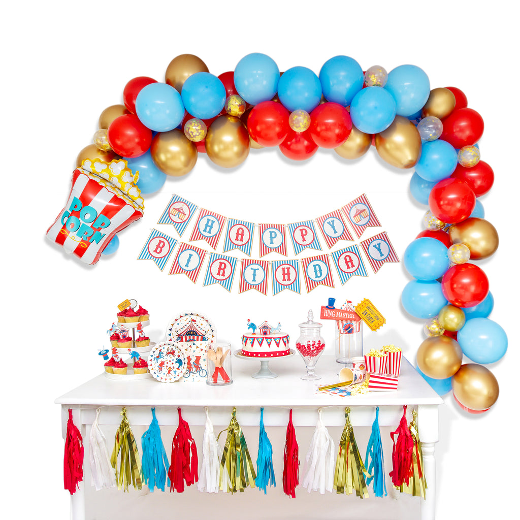 Greatest Show on Earth Balloon Garland Arch Kit