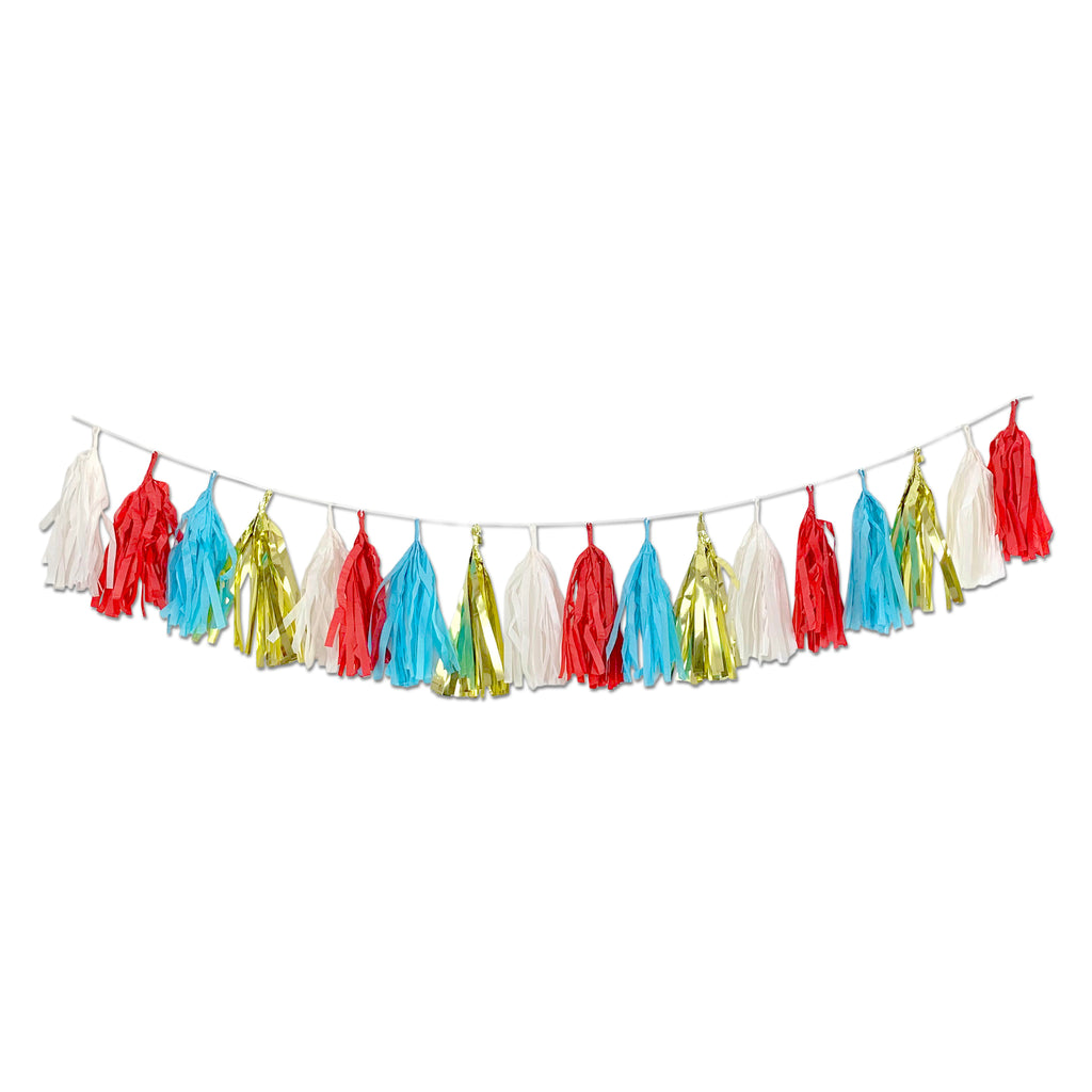 Greatest Show on Earth Pre-assembled Garland Tassels