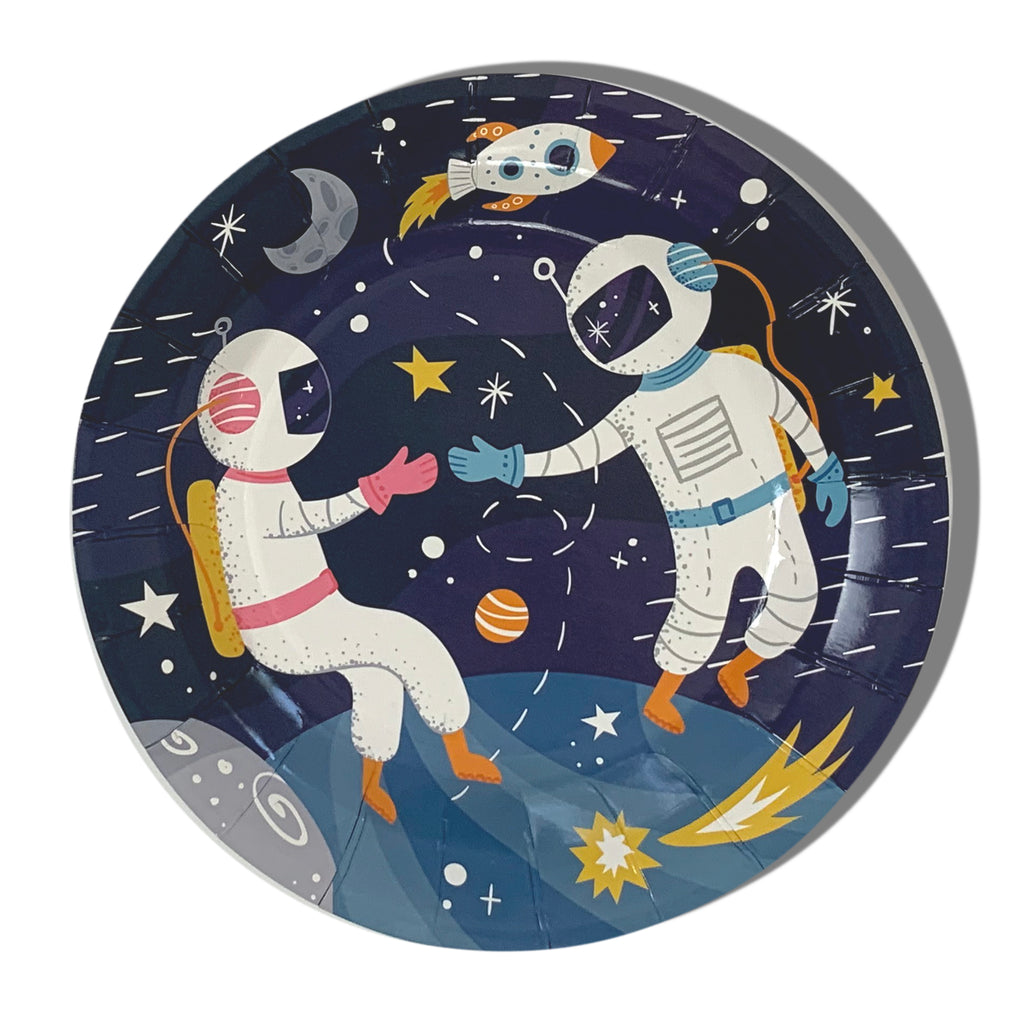 "7"" Shoot for the Moon Plates"