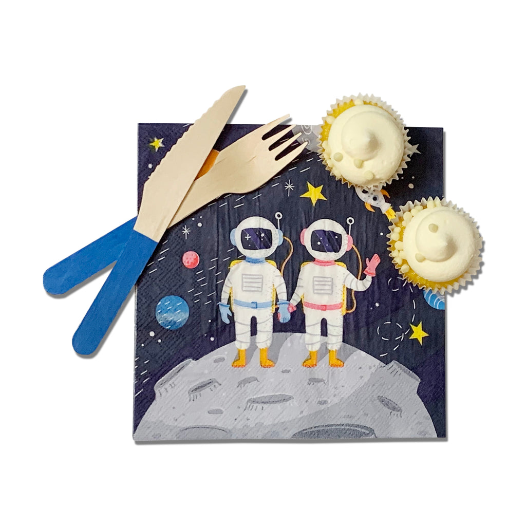 Shoot for the Moon Napkins