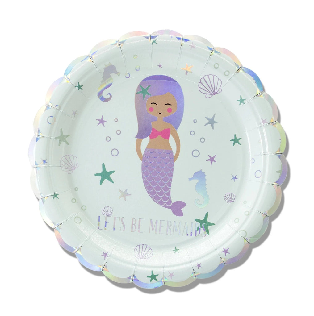 "7"" Mermaid Plates"