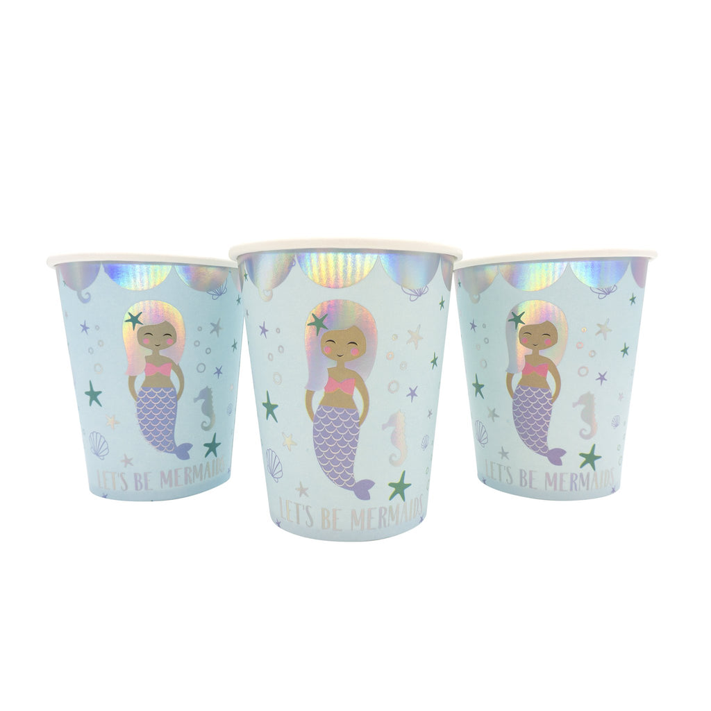 Let's be Mermaids 9 oz. Cups