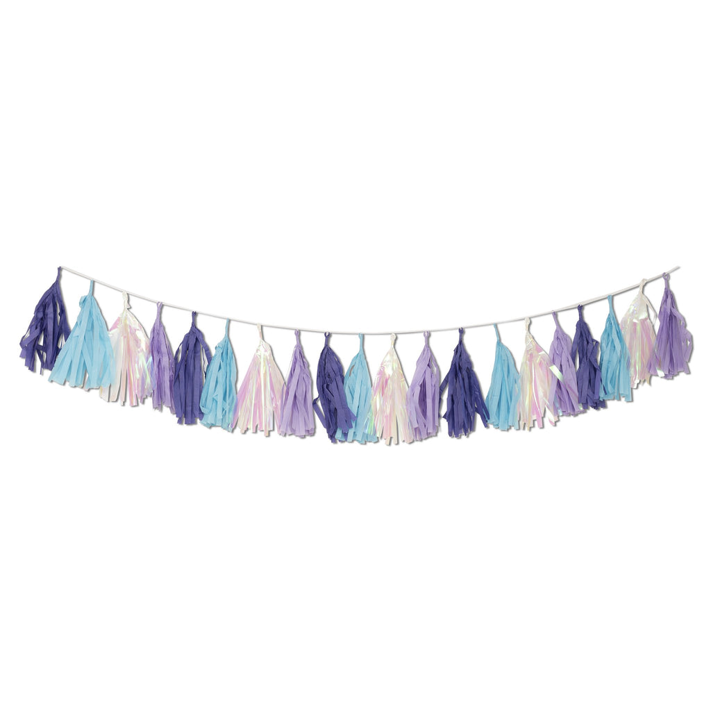Let's be Mermaids Pre-assembled Garland Tassels