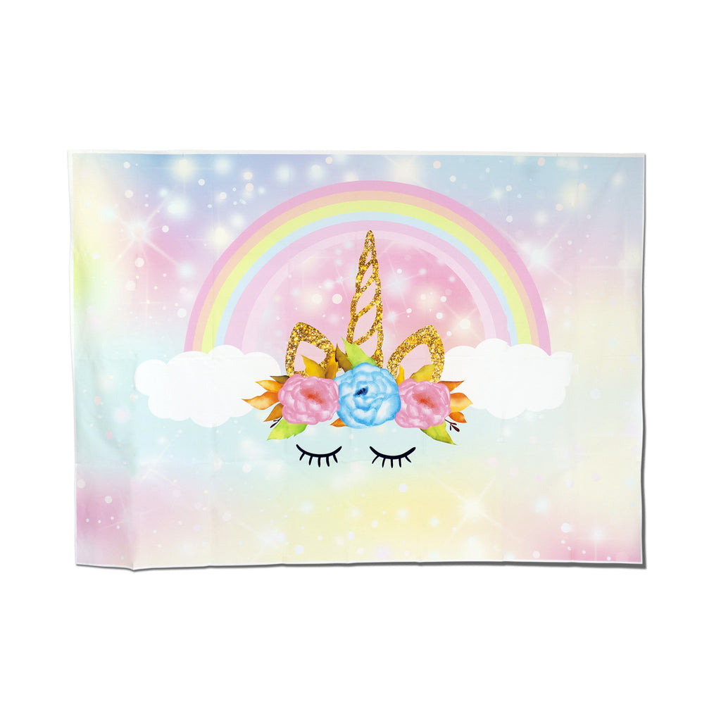 "Magical Unicorn 86"" Backdrop"