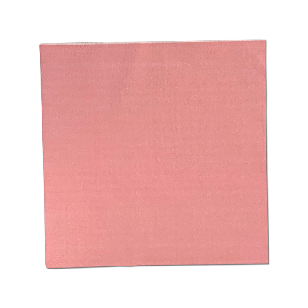 Pink 2-Ply Napkins