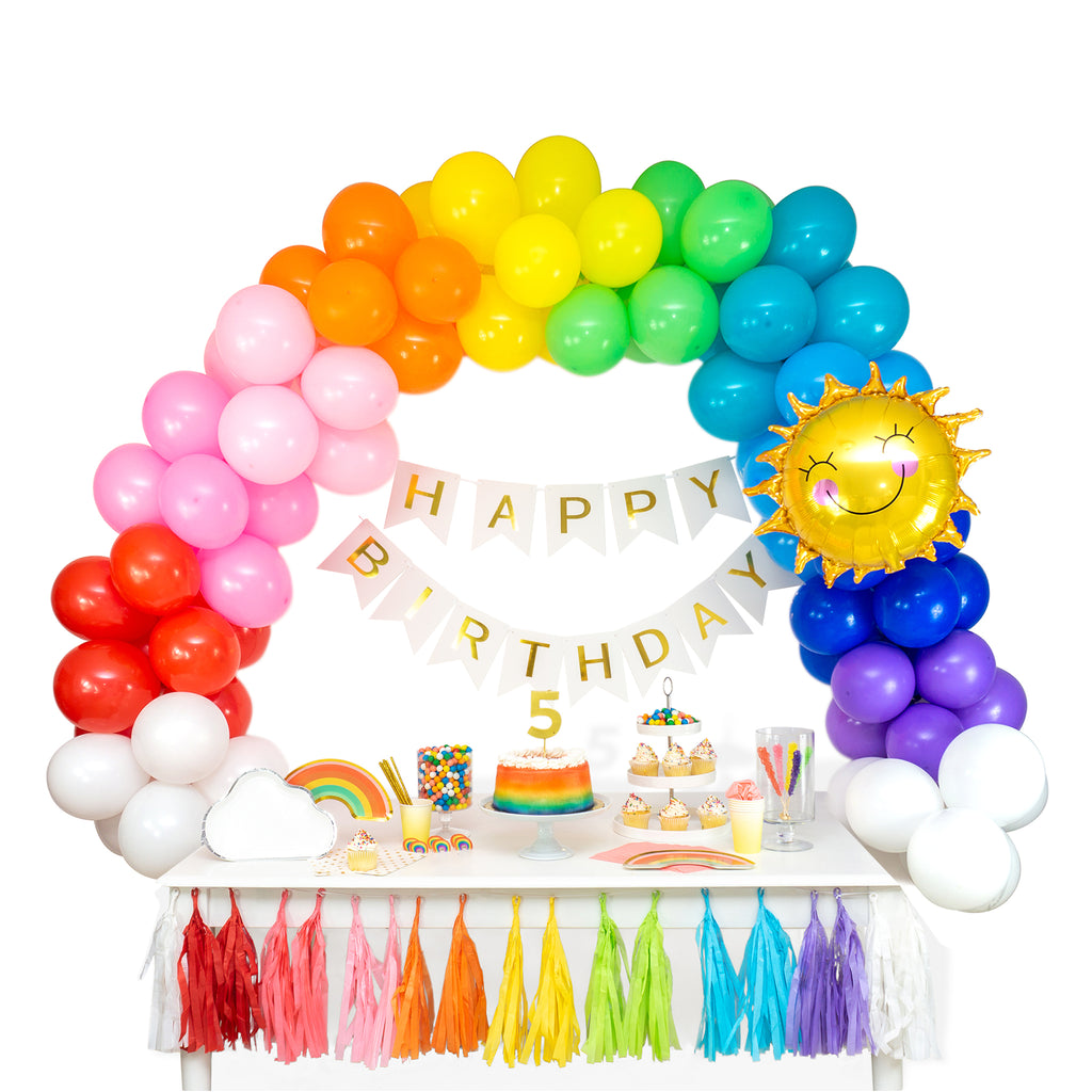 Over the Rainbow Balloon Garland Arch Kit
