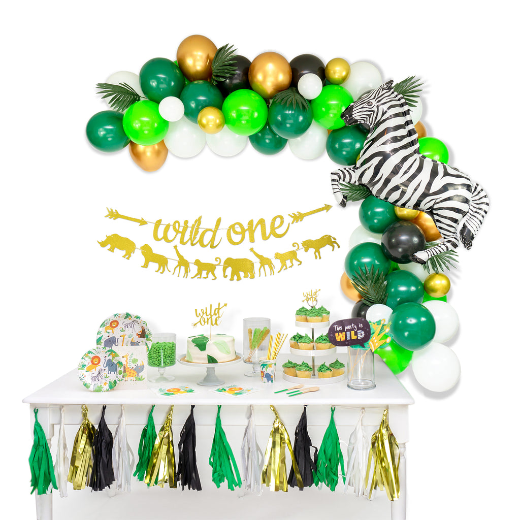 Wild One Party Banner Set