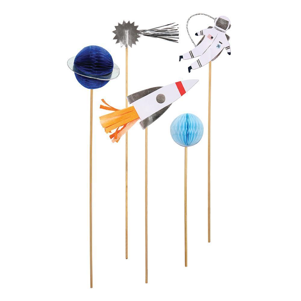 Shoot for the Moon Cupcake Toppers