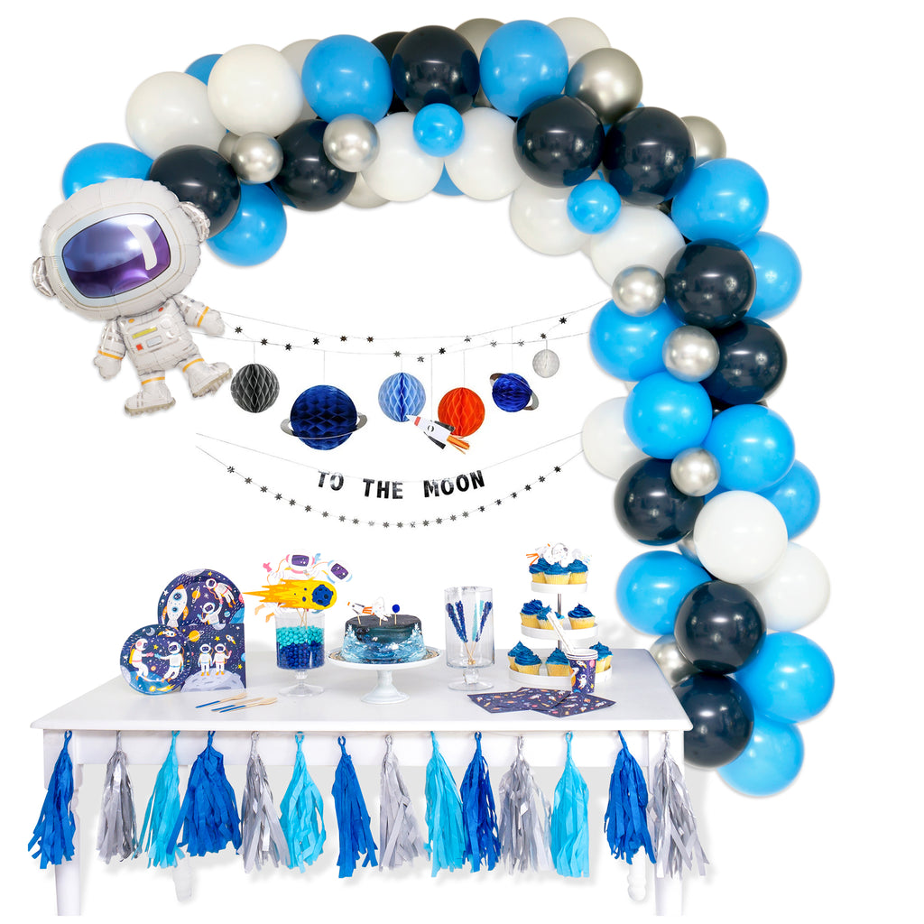 Shoot for the Moon Balloon Garland Arch Kit
