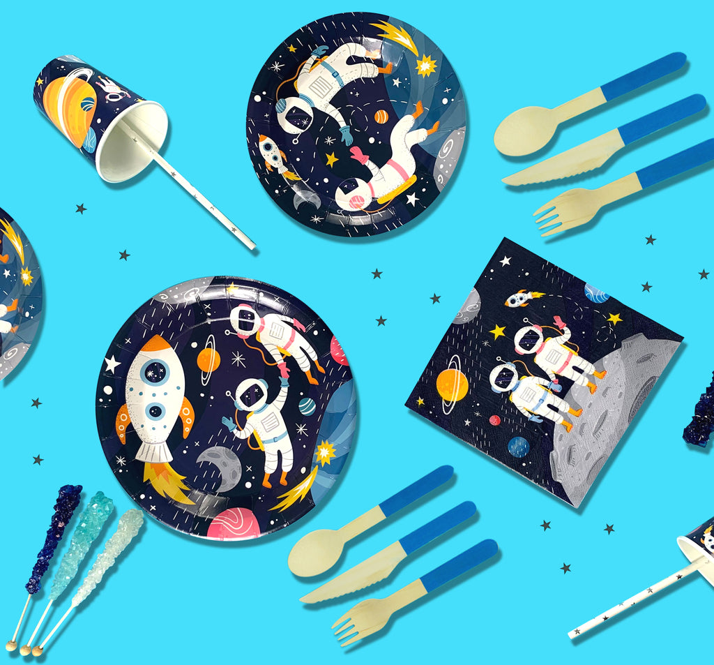 Shoot for the Moon Party Favor Bags