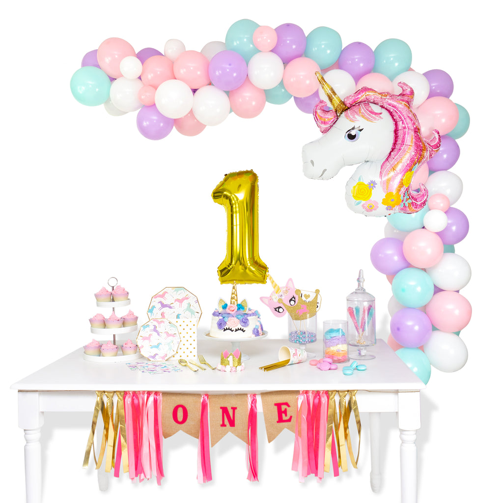 Magical Unicorn Balloon Garland Arch Kit
