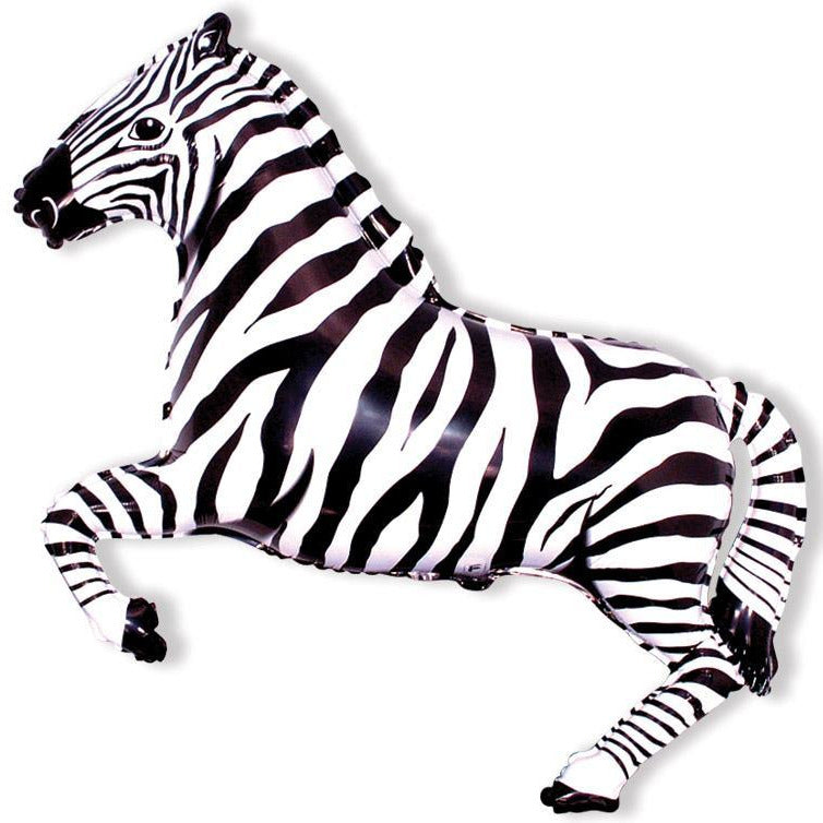 "Wild One Zebra 42"" Balloon"