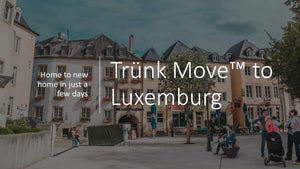 Internationale Umzüge mit Trünk Kofferraumcontainer - Trünk Moves