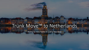 INTERNATIONAL TRUNK MOVE FROM CANADA TO NETHERLANDS - Trünk Moves