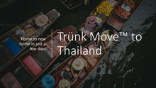 Load image into Gallery viewer, Internationale Umzüge mit Trünk Kofferraumcontainer - Trünk Moves