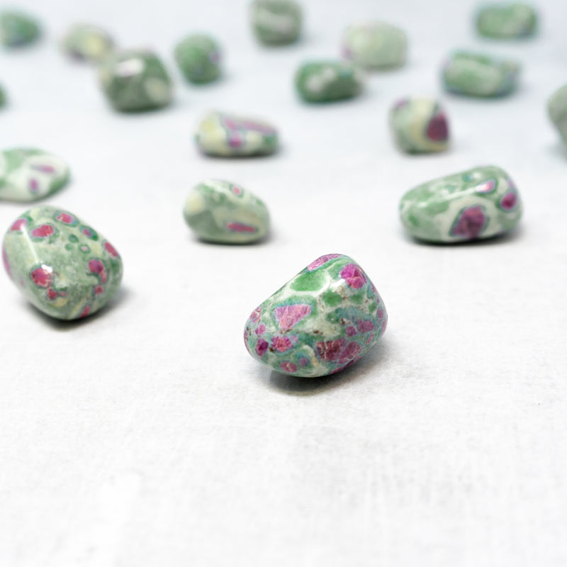 Tumbled Ruby Zoisite