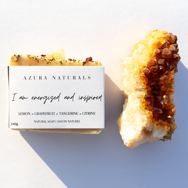 Crystal & Soap Duo | I am energized and inspired