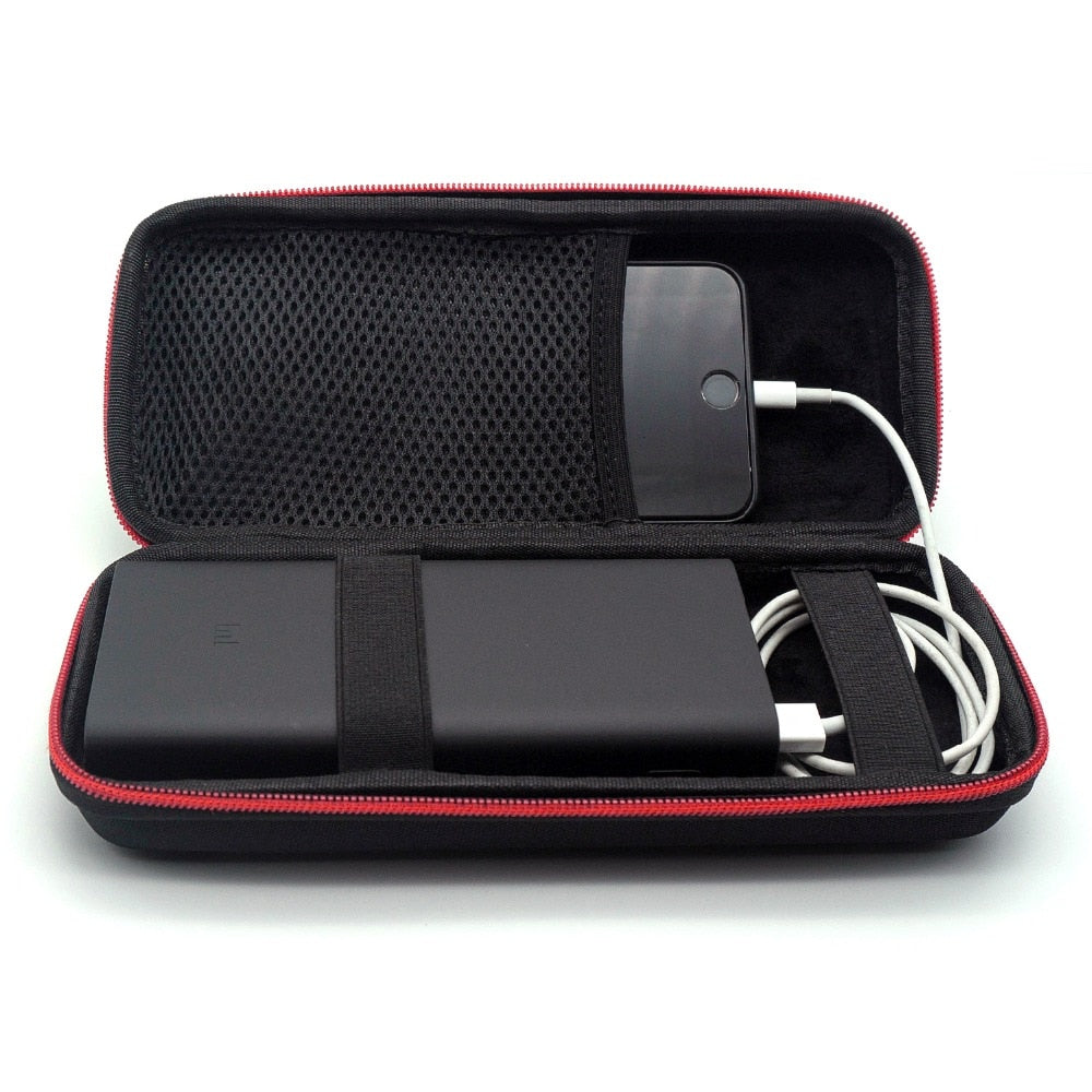 2019 Newest Hard EVA Travel Bags Portable Case for Xiaomi Mi Power Bank 3 20000mAh Cover