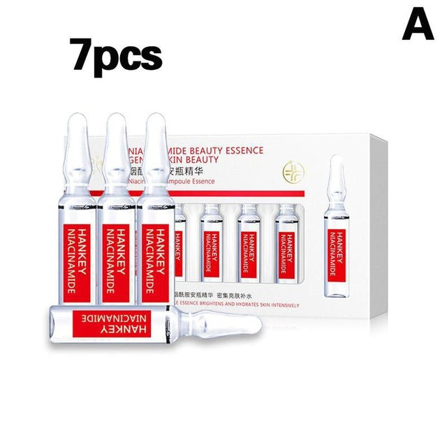 7x2ml Dark Spots Corrective Ampoule Set Facial Hydrating Reduce Blemishes Wrinkles Hyaluronic Acid