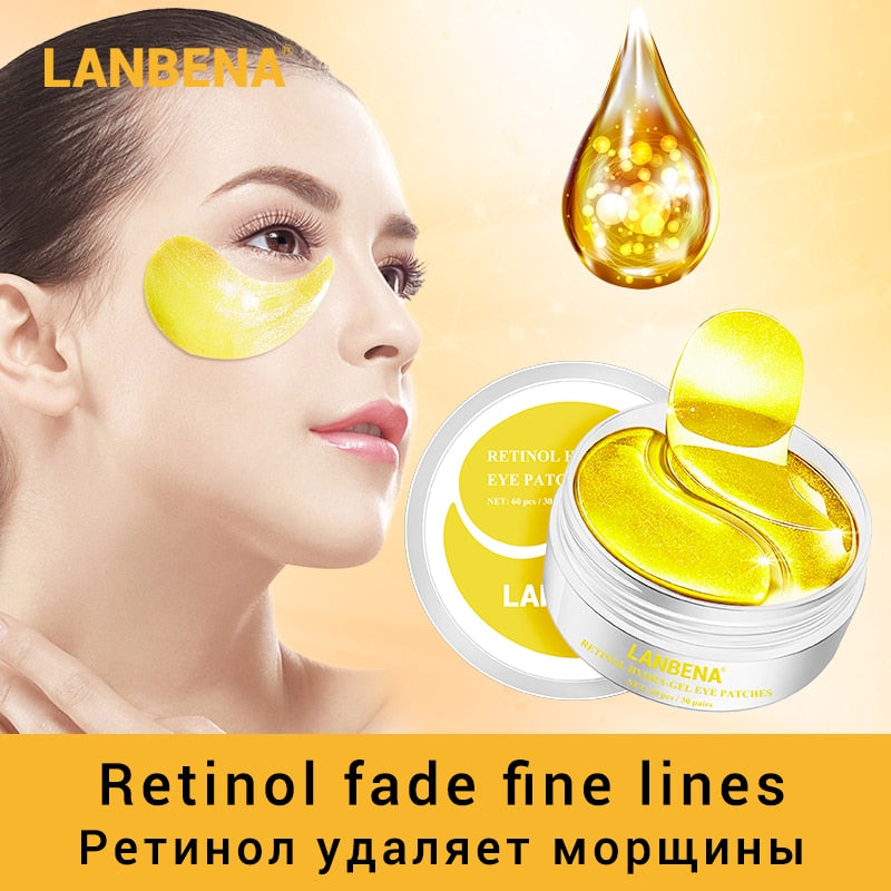 Eye Mask Collagen -Eye Patch Skin Care- Remove Dark Circles Eye Bag
