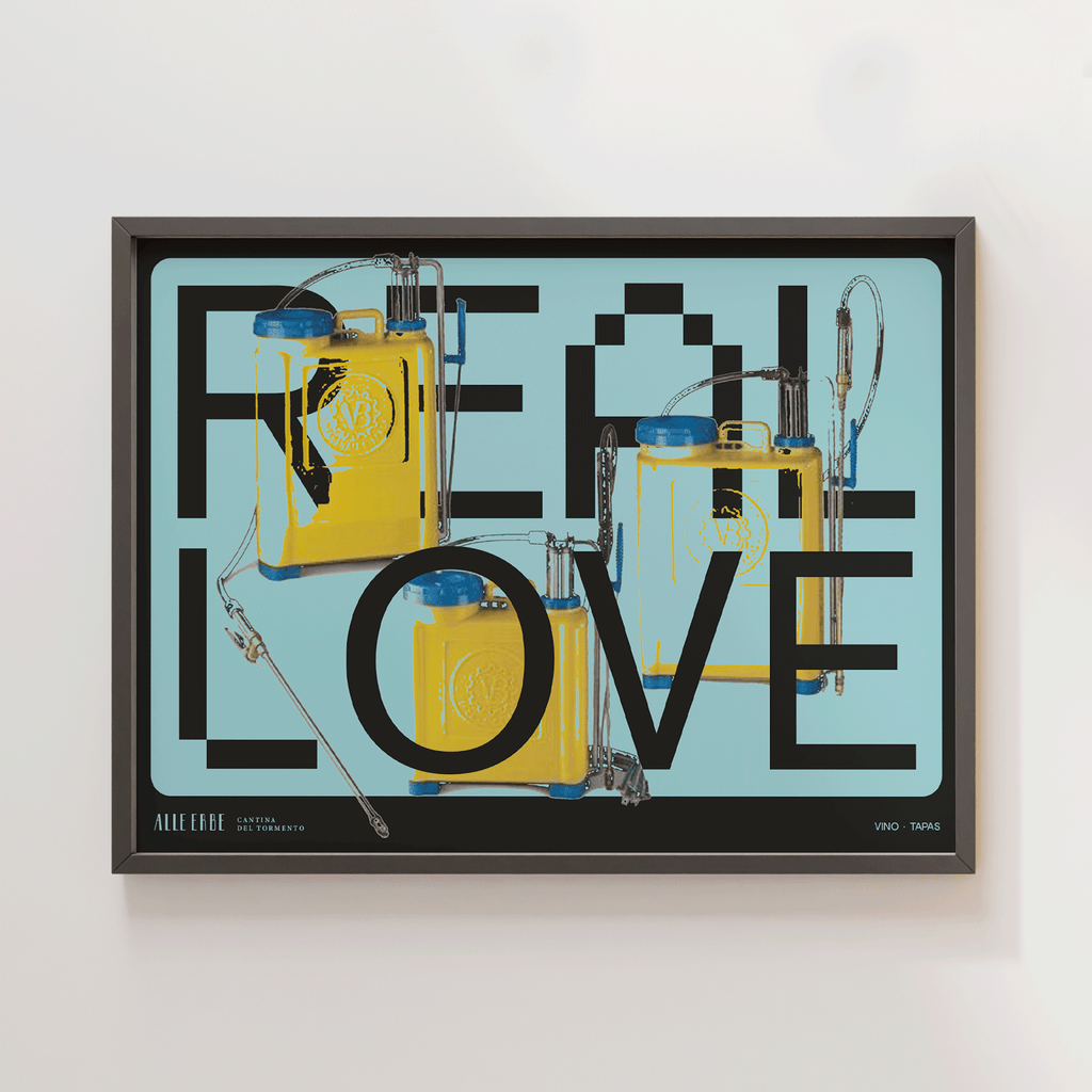 Real Love Print - Alle Erbe