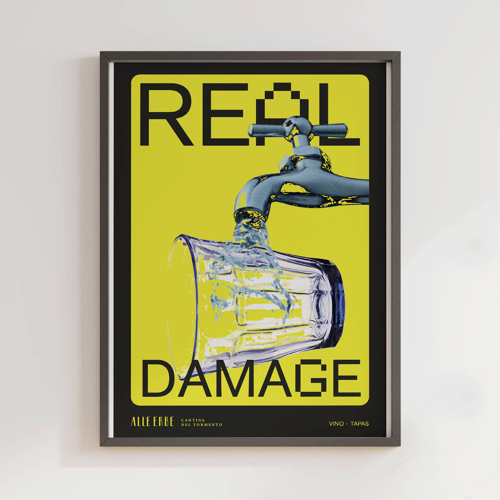 Real Damage Print - Alle Erbe