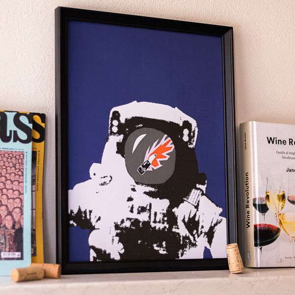Houston We Have a Wine Print