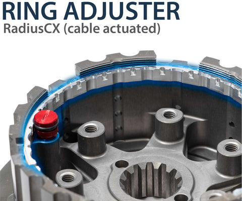 Ring Adjuster - Cable Actuated