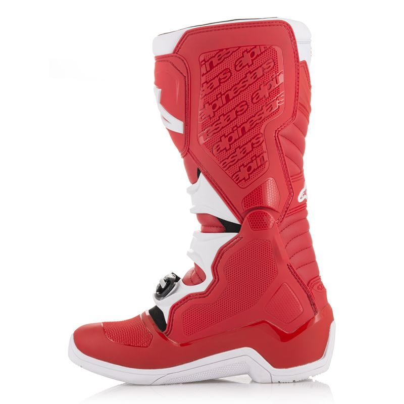 Alpinestars Tech 5 Boots Red White - Even Strokes