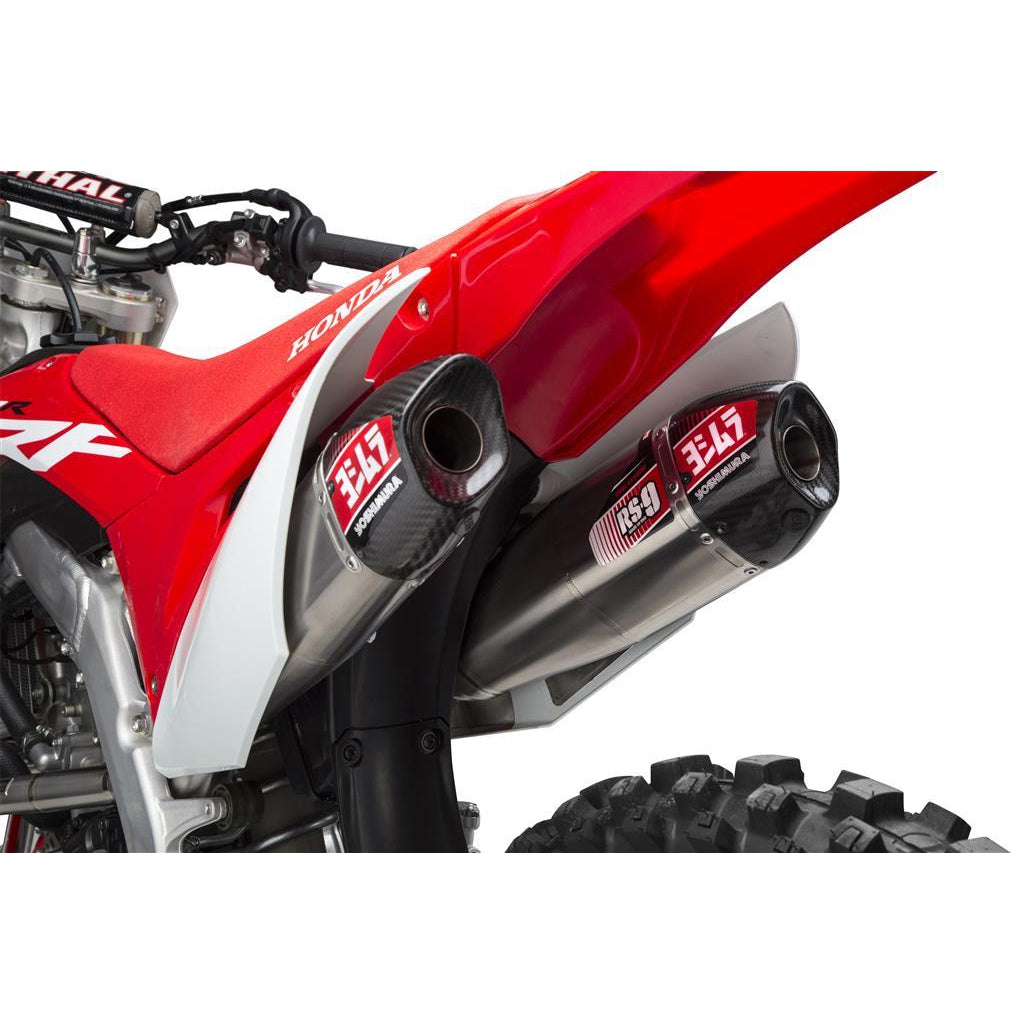 Yoshimura Honda CRF250R 2018-2020 Full Titanium Exhaust - Even Strokes