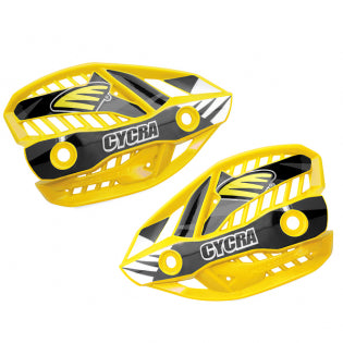 Cycra Plastics Crm Ultra Hand Shields Yellow - Even Strokes