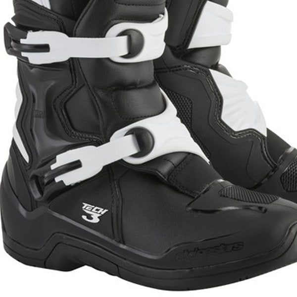 Alpinestars Tech 3 Boots Black White - Even Strokes