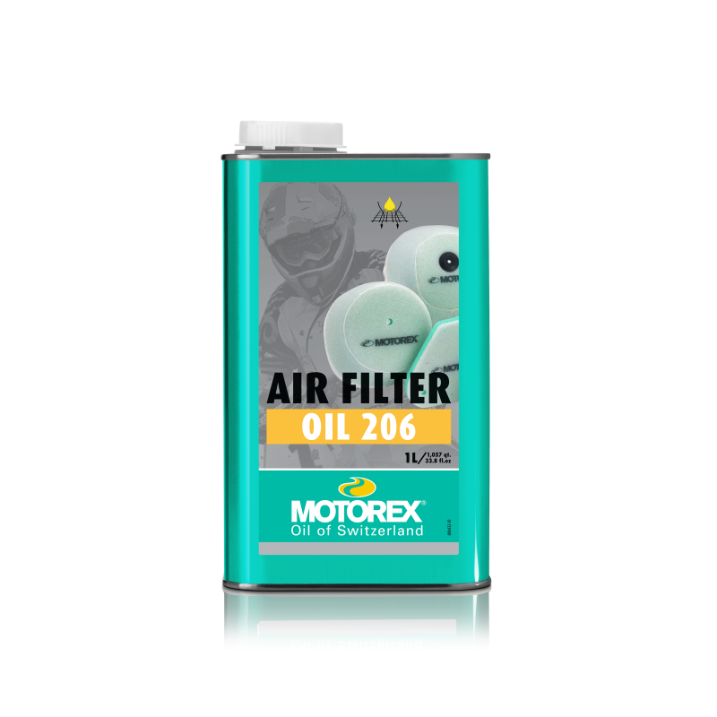 Motorex Air Filter Oil 206 1 Litre - Even Strokes