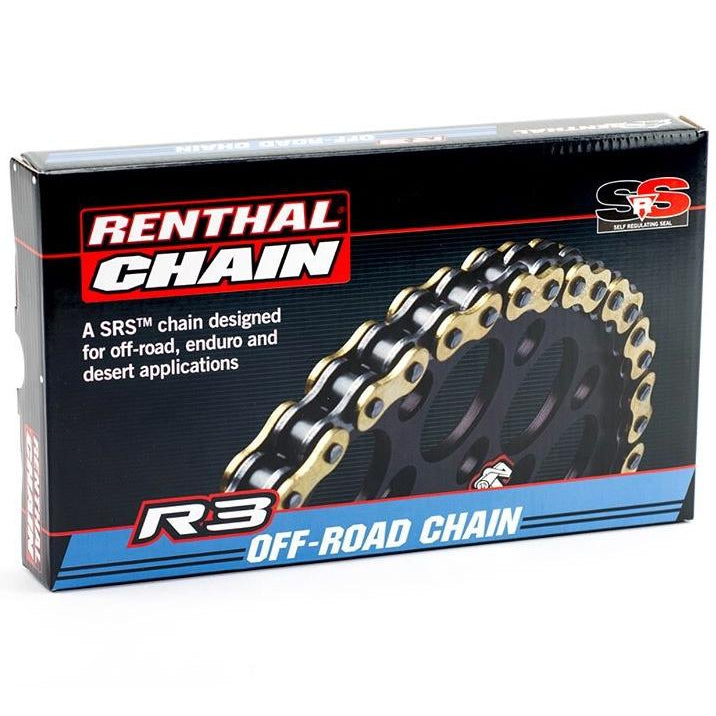 Renthal R3 chain 520 R3.3 x 116L - Even Strokes