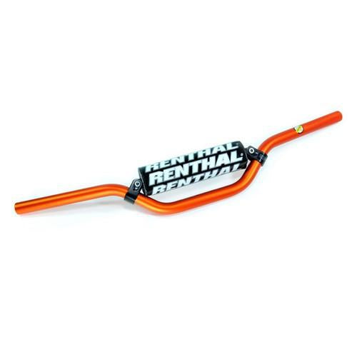 Renthal Handle Bars Ktm 50 Orange - Even Strokes