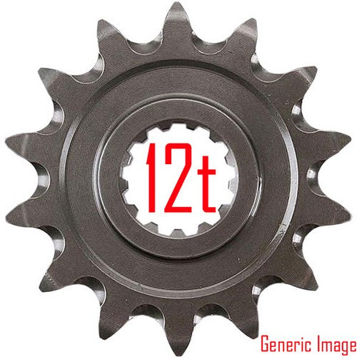 Renthal Sprocket Front 12T Husqvarna TC250 - Even Strokes