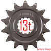 Renthal Sprocket Front 13T KX125 - Even Strokes