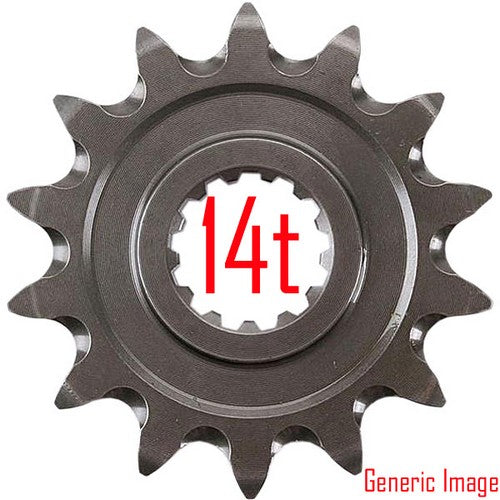 Renthal Front Sprocket 14T DT125R & YZ85 02-ON - Even Strokes