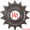 Renthal Front Sprocket 14T RMZ450 05-12 - Even Strokes