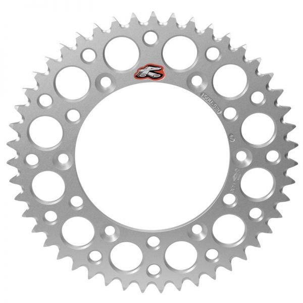 Renthal rear sprocket 42T BETA COTA SCORPA GAS GAS Silver - Even Strokes